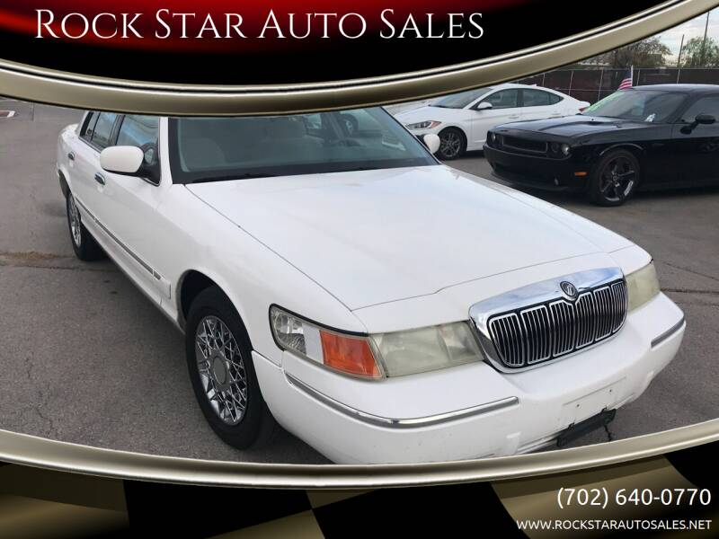1999 Mercury Grand Marquis for sale at Rock Star Auto Sales in Las Vegas NV