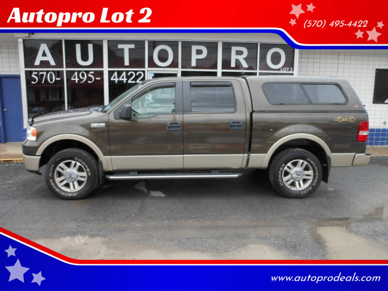2008 Ford F-150 for sale at Autopro Lot 2 in Sunbury PA