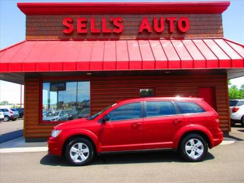 2013 Dodge Journey for sale at Sells Auto INC in Saint Cloud MN