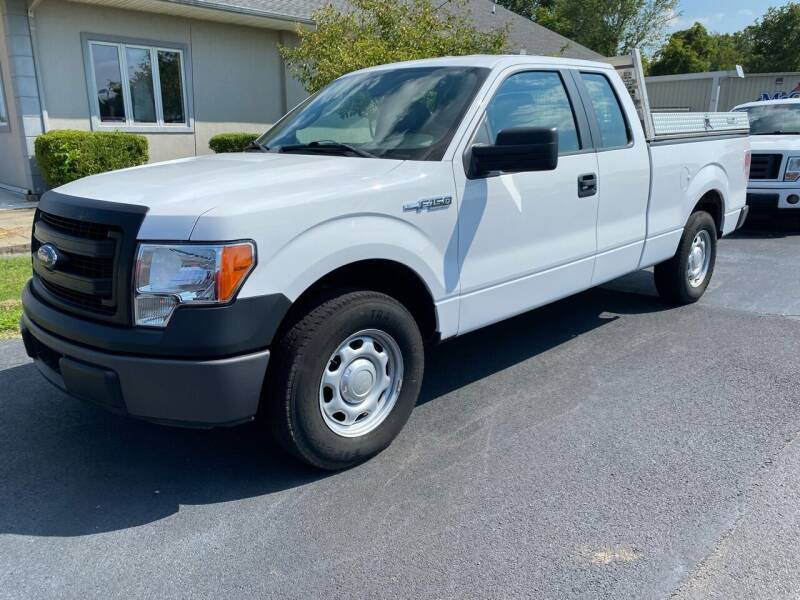2014 Ford F-150 for sale at McCully's Automotive - Trucks & SUV's in Benton KY