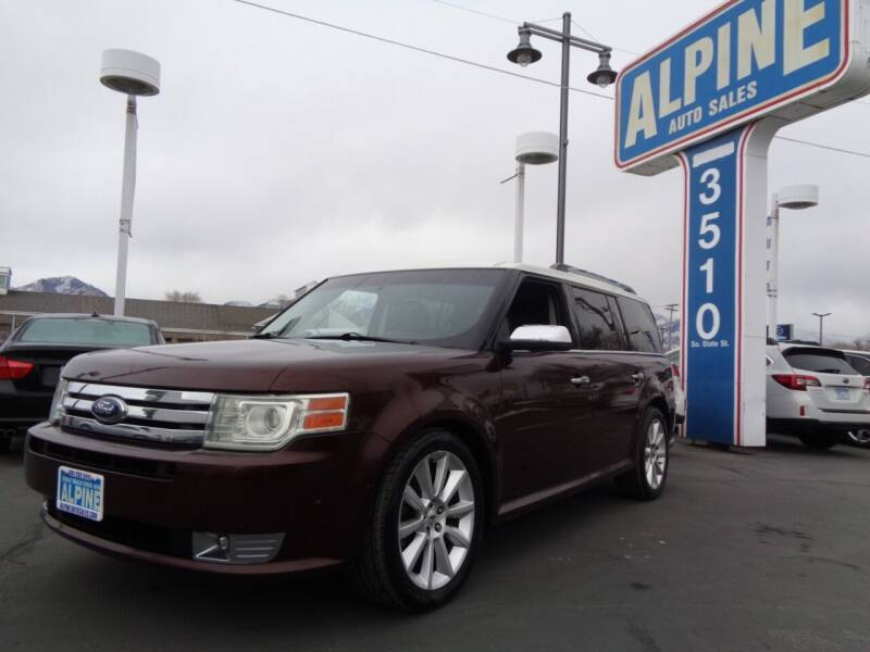 2012 Ford Flex for sale at Alpine Auto Sales in Salt Lake City UT