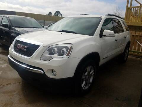 2007 GMC Acadia for sale at RODRIGUEZ MOTORS CO. in Houston TX