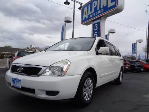 2012 Kia Sedona for sale at Alpine Auto Sales in Salt Lake City UT