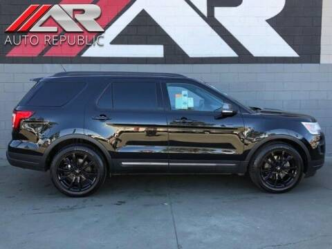 2018 Ford Explorer for sale at Auto Republic Fullerton in Fullerton CA