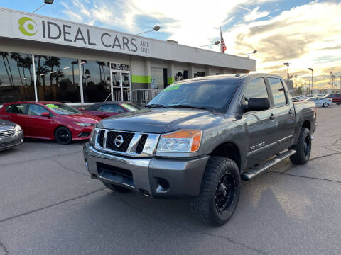 2013 Nissan Titan for sale at Ideal Cars in Mesa AZ