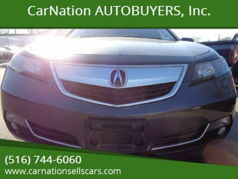 2012 Acura TL for sale at CarNation AUTOBUYERS Inc. in Rockville Centre NY