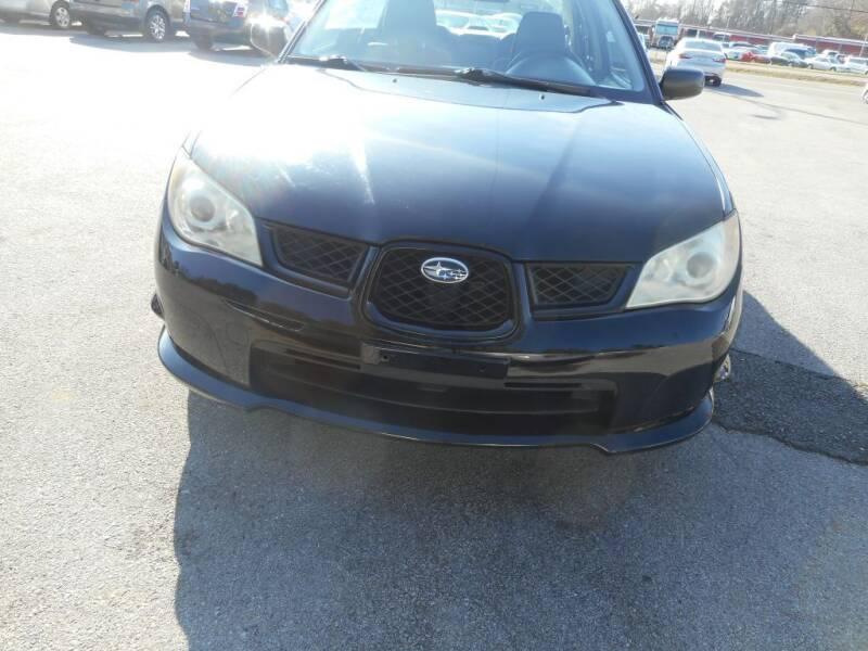 2007 Subaru Impreza for sale at Elite Motors in Knoxville TN