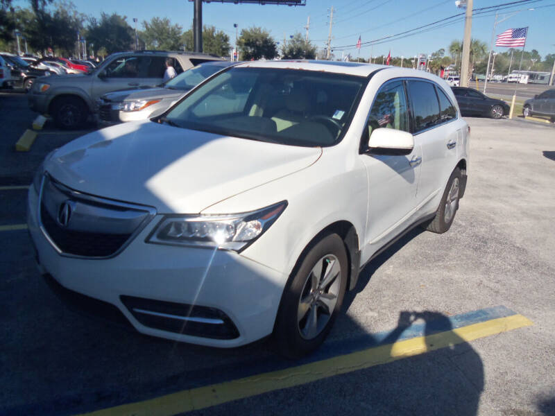 2014 Acura MDX for sale at ORANGE PARK AUTO in Jacksonville FL