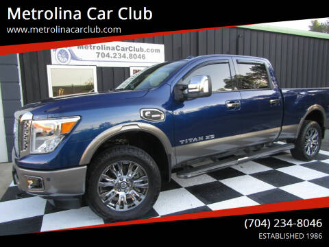 2017 Nissan Titan XD for sale at Metrolina Car Club in Matthews NC