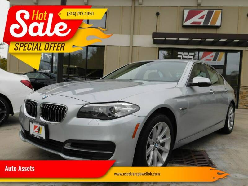 2014 BMW 5 Series for sale at Auto Assets in Powell OH