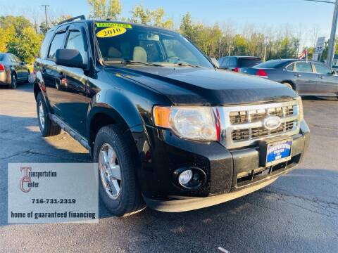 2010 Ford Escape for sale at Transportation Center Of Western New York in Niagara Falls NY