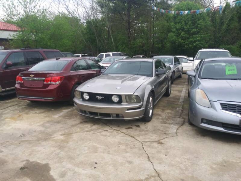 2008 Ford Mustang for sale at Copeland's Auto Sales in Union City GA