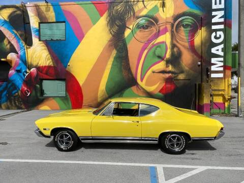 1968 Chevrolet Chevelle for sale at BIG BOY DIESELS in Ft Lauderdale FL