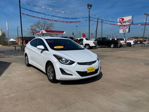 2016 Hyundai Elantra for sale at Russell Smith Auto in Fort Worth TX