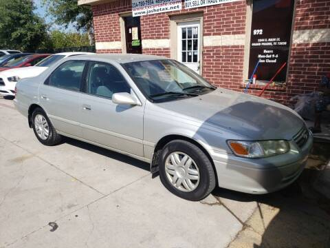 2000 Toyota Camry for sale at El Jasho Motors in Grand Prairie TX