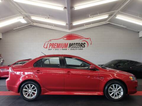 2015 Mitsubishi Lancer for sale at Premium Motors in Villa Park IL