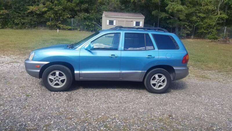 2004 Hyundai Santa Fe for sale at MIKE B CARS LTD in Hammonton NJ