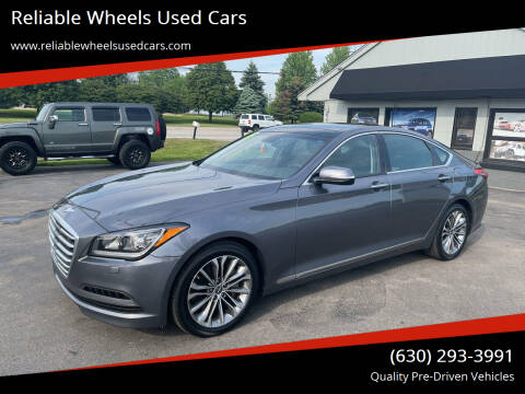 2015 Hyundai Genesis for sale at Reliable Wheels Used Cars in West Chicago IL