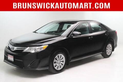 2013 Toyota Camry for sale at Brunswick Auto Mart in Brunswick OH