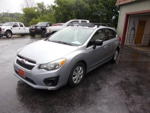 2013 Subaru Impreza for sale at Careys Auto Sales in Rutland VT