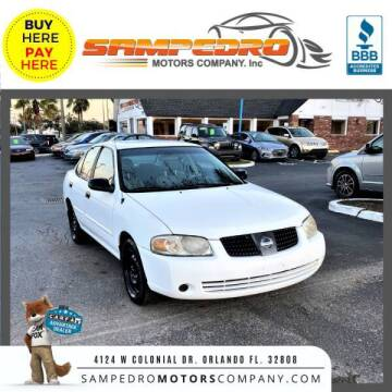 2004 Nissan Sentra for sale at SAMPEDRO MOTORS COMPANY INC in Orlando FL
