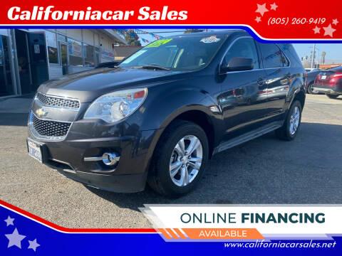 2014 Chevrolet Equinox for sale at Californiacar Sales in Santa Maria CA