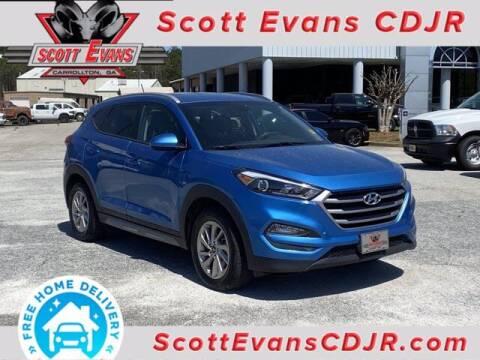 2017 Hyundai Tucson for sale at SCOTT EVANS CHRYSLER DODGE in Carrollton GA