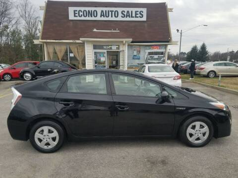 2010 Toyota Prius for sale at Econo Auto Sales Inc in Raleigh NC