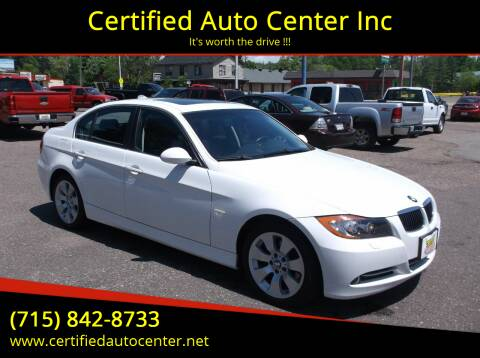 2008 BMW 3 Series for sale at Certified Auto Center Inc in Wausau WI