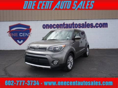 2018 Kia Soul for sale at One Cent Auto Sales in Glendale AZ