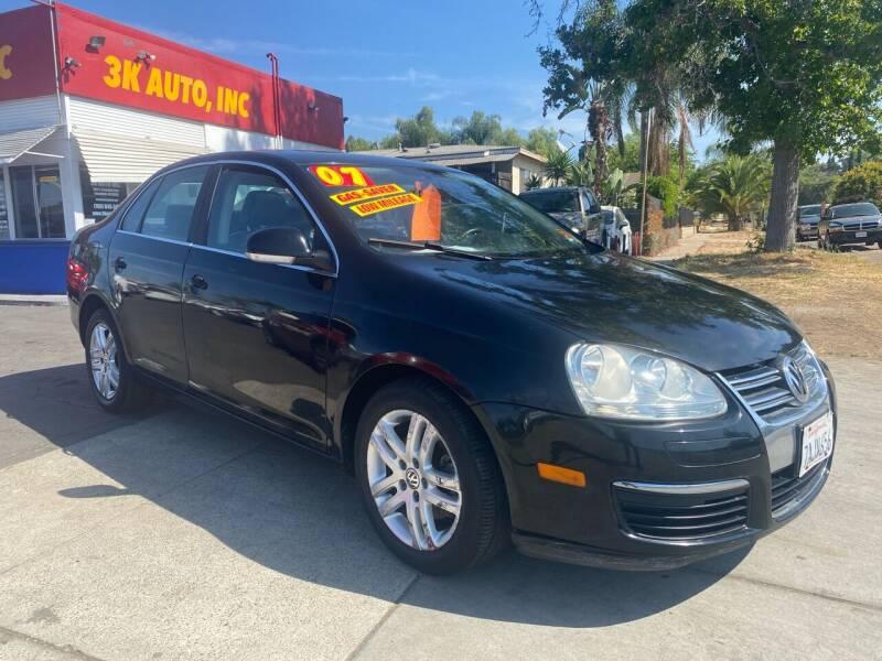 2007 Volkswagen Jetta for sale at 3K Auto in Escondido CA
