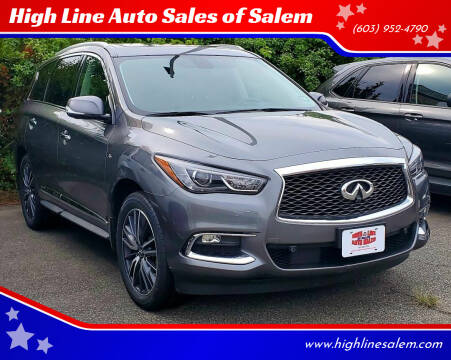 2017 Infiniti QX60 for sale at High Line Auto Sales of Salem in Salem NH