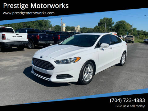 2015 Ford Fusion for sale at Prestige Motorworks in Concord NC