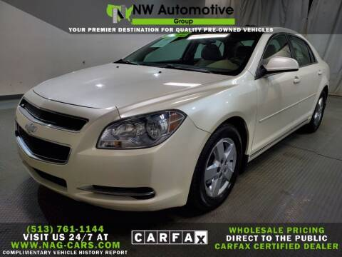 2010 Chevrolet Malibu for sale at NW Automotive Group in Cincinnati OH