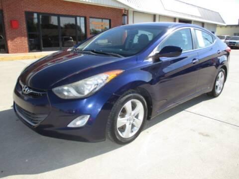 2013 Hyundai Elantra for sale at Eden's Auto Sales in Valley Center KS