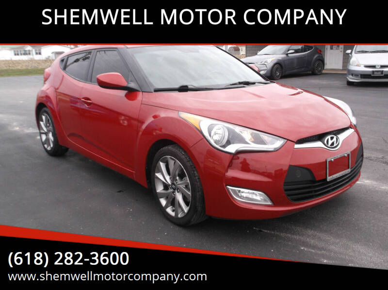 2017 Hyundai Veloster for sale at SHEMWELL MOTOR COMPANY in Red Bud IL