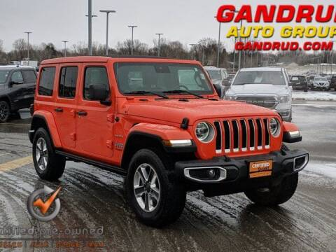 2019 Jeep Wrangler Unlimited for sale at Gandrud Dodge in Green Bay WI