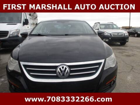 2010 Volkswagen CC for sale at First Marshall Auto Auction in Harvey IL