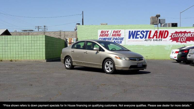 2008 Honda Civic for sale at Westland Auto Sales on 7th in Fresno CA