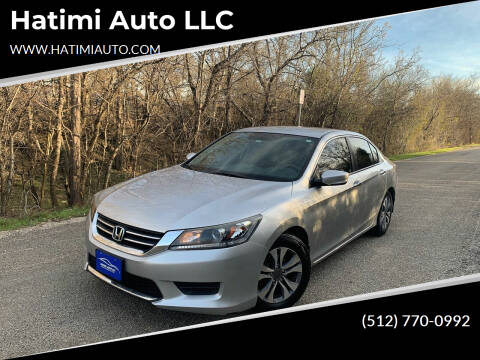 2015 Honda Accord for sale at Hatimi Auto LLC in Buda TX