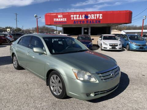 2006 Toyota Avalon for sale at Texas Drive LLC in Garland TX