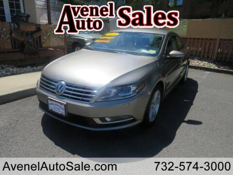 2014 Volkswagen CC for sale at Avenel Auto Sales in Avenel NJ