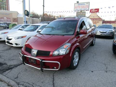 2006 Nissan Quest for sale at Daniel Auto Sales in Yonkers NY