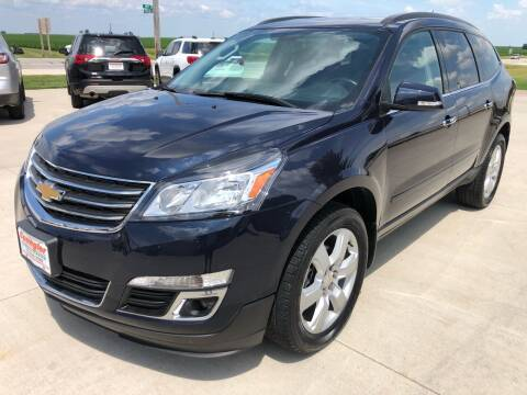 2017 Chevrolet Traverse for sale at SPANGLER AUTOMOTIVE in Glidden IA