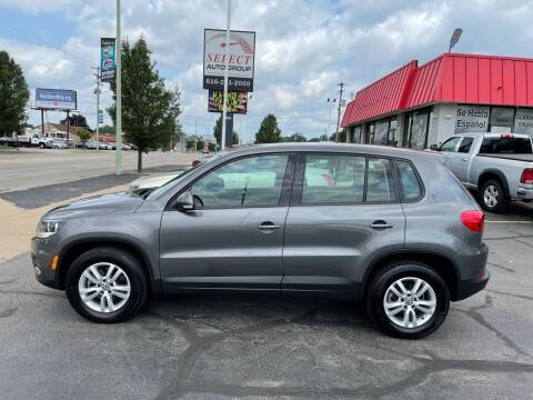 2014 Volkswagen Tiguan for sale at Select Auto Group in Wyoming MI