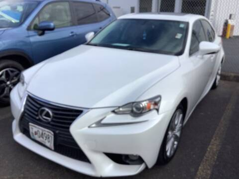 2014 Lexus IS 250 for sale at Royal Moore Custom Finance in Hillsboro OR