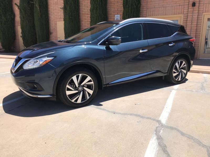2018 Nissan Murano for sale at Freedom  Automotive in Sierra Vista AZ