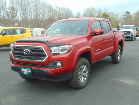 2017 Toyota Tacoma for sale at Greg's Auto Sales in Searsport ME
