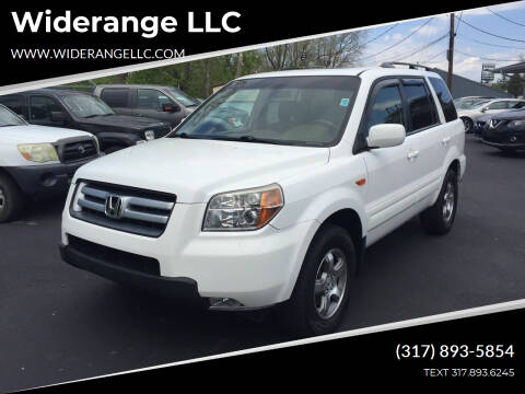 2007 Honda Pilot for sale at Widerange LLC in Greenwood IN