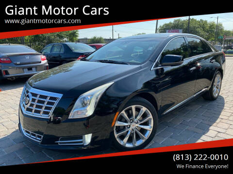2013 Cadillac XTS for sale at Giant Motor Cars in Tampa FL
